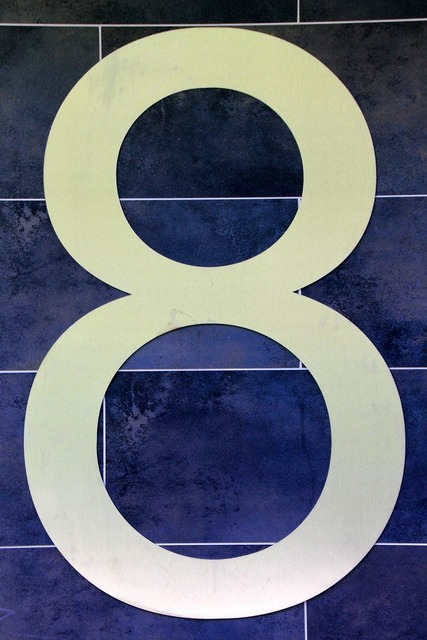 Number digit eight.
