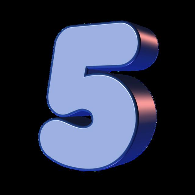 Number five 5.