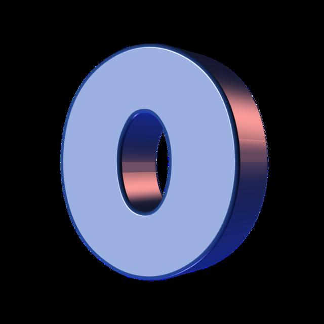 Number zero 0.