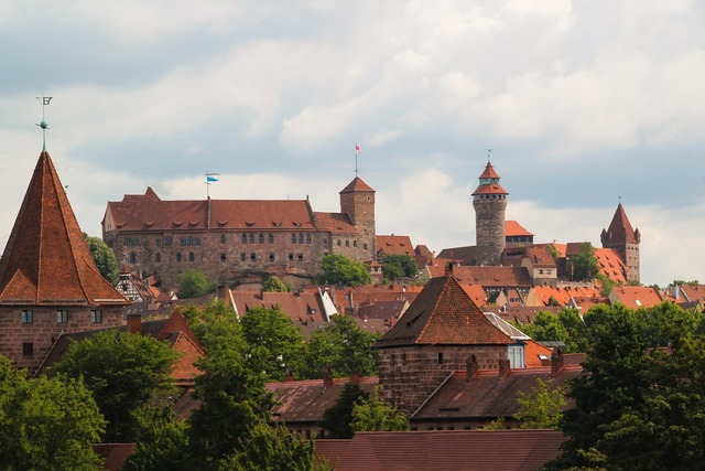 Nuremberg castle middle ages.