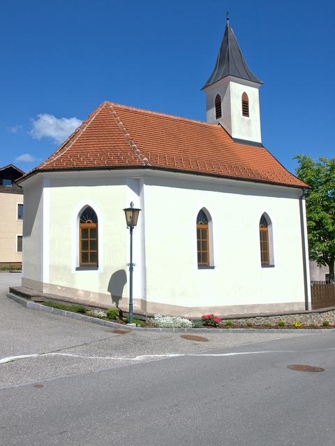 Nussendorf chapel religious, architecture buildings.