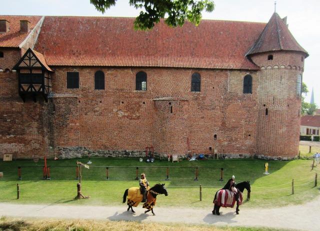 Nyborg castle castle knight.