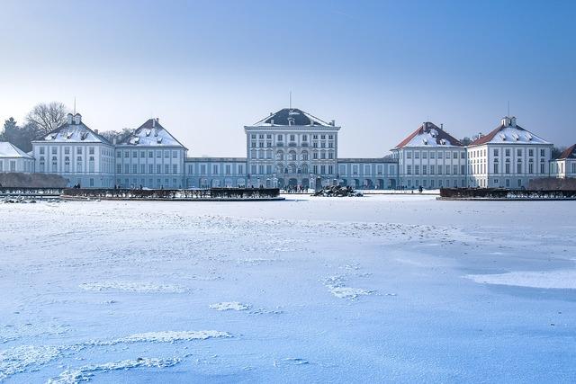 Nymphenburg palace munich bavaria, nature landscapes.