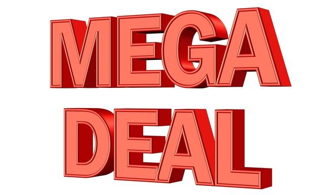 Offer sale deal, business finance.
