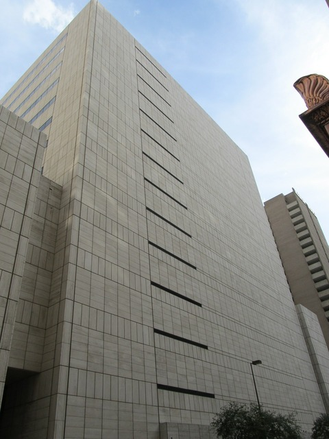 Office building downtown dallas, business finance.