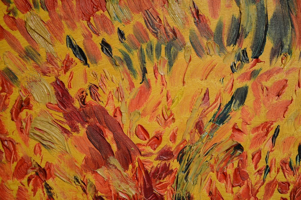 Oil paint texture painting, backgrounds textures.