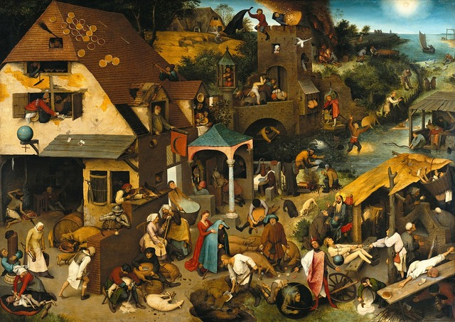 Oil painting pieter bruegel of the elder 1559.