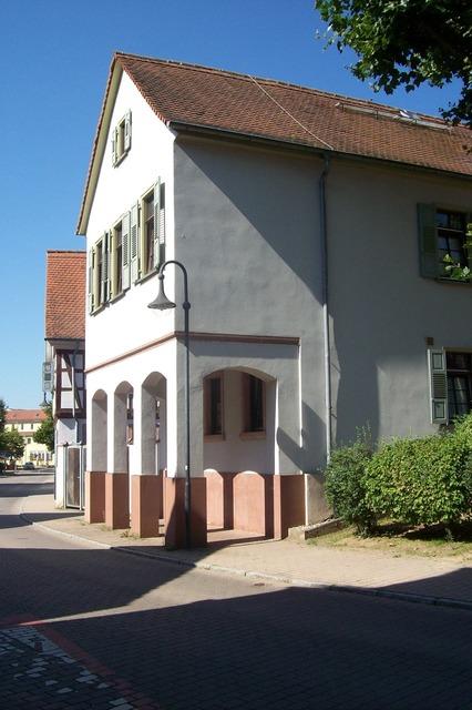 Old barracks bensheim-auerbach cultural heritage, architecture buildings.