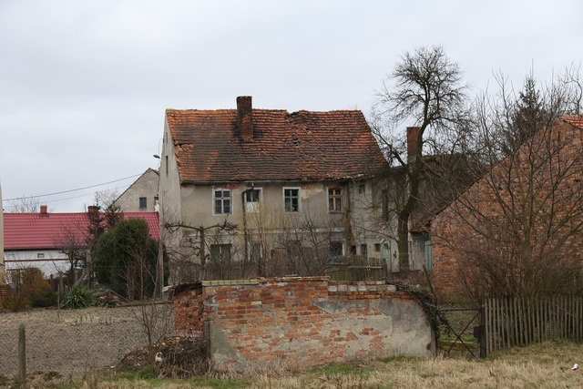 Old house crash poland, architecture buildings.