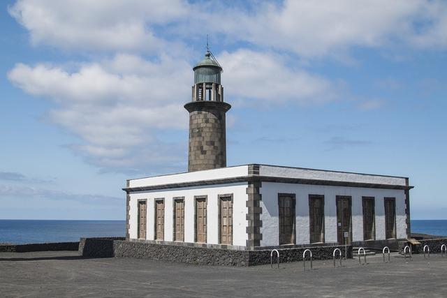Old lighthouse la palma salinas.