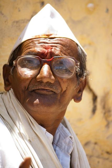 Old man india, people.