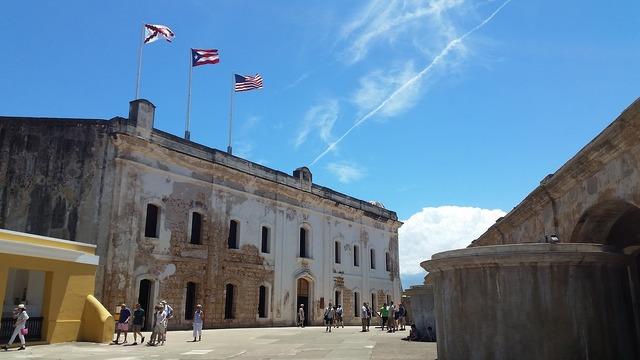 Old san juan fort, places monuments.
