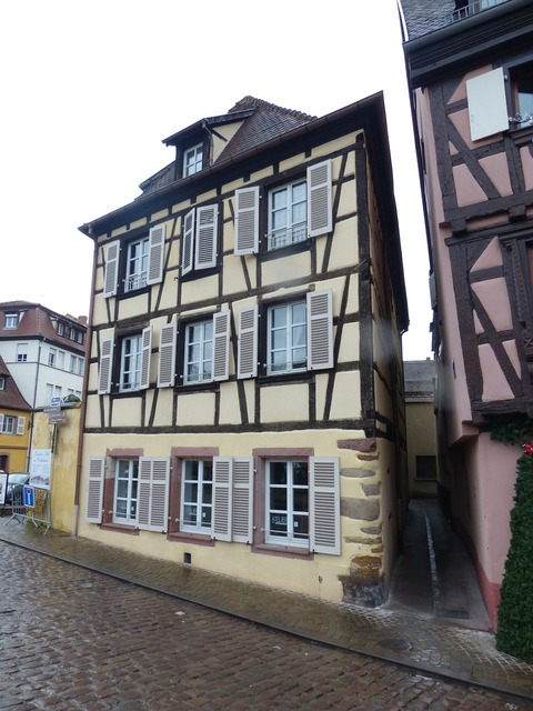Old town colmar truss.