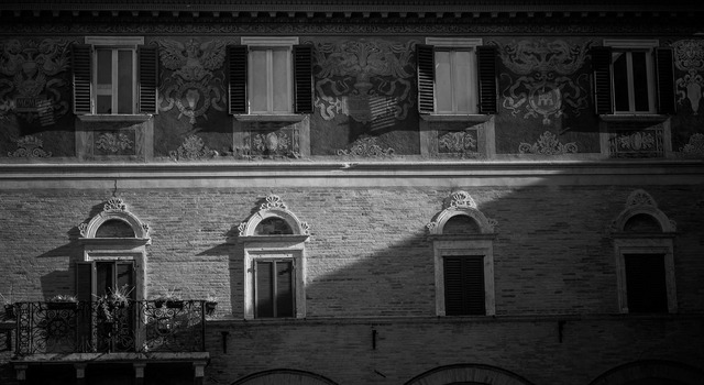 Old town italy balcony.