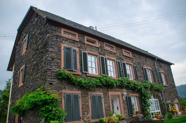 Old town mosel housewife, architecture buildings.