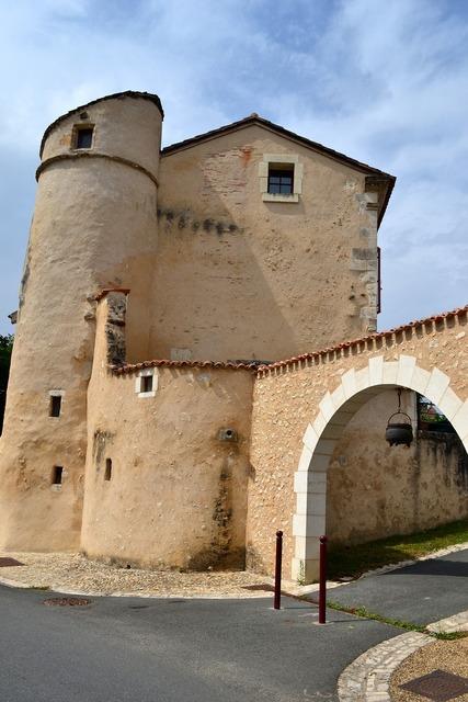 Old village castle old house.