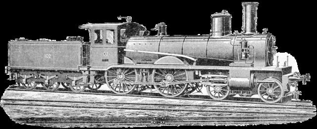 Old vintage train.