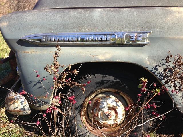 Old vintage truck, transportation traffic.