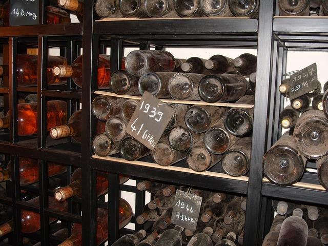Old wine bottles wine, food drink.