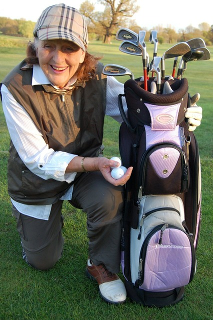 Older lady retired sport, sports.