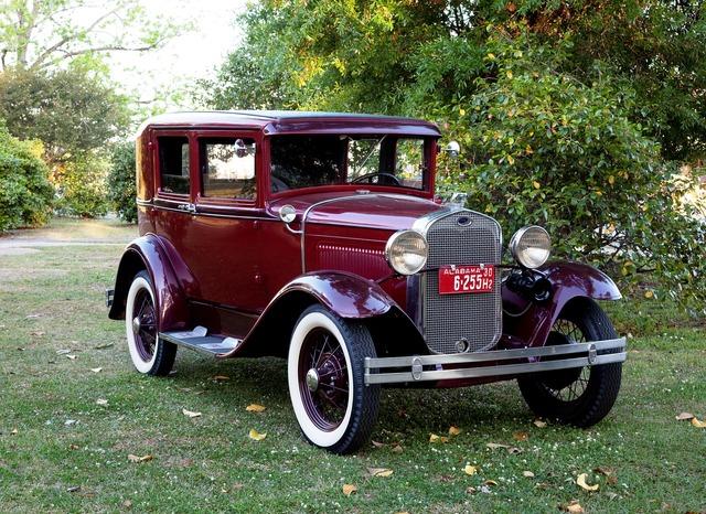 Oltimer vintage auto.