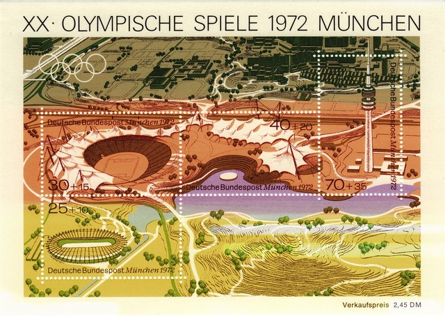Olympia munich 1972, architecture buildings.