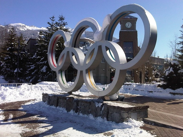 Olympic rings whistler olympics, sports.