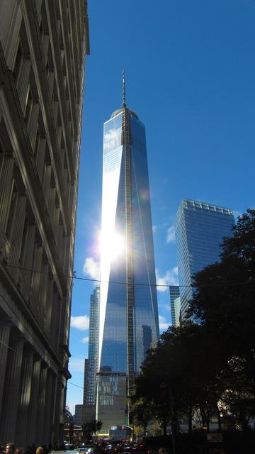One world trade center manhattan ground zero, architecture buildings.
