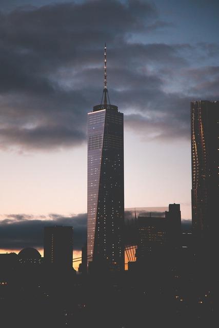 One world trade center new york city skyscraper, architecture buildings.