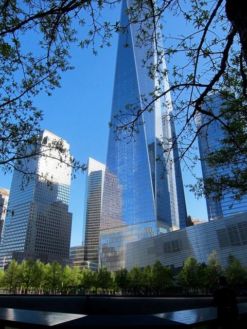 One world trade center new york manhattan, architecture buildings.