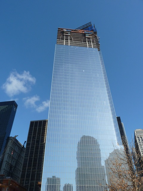 One world trade center new york nyc.