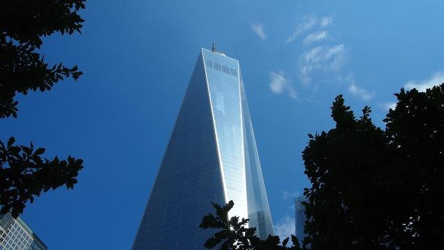One world trade center new york usa.