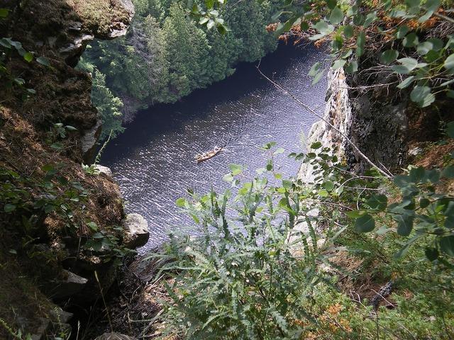 Ontario canada barron canyon.