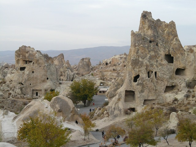 Open air museum göreme tourist centre, religion.