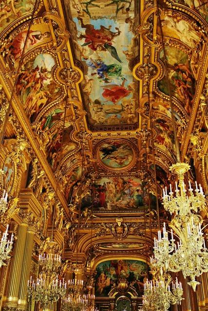 Opera garnier theatre.