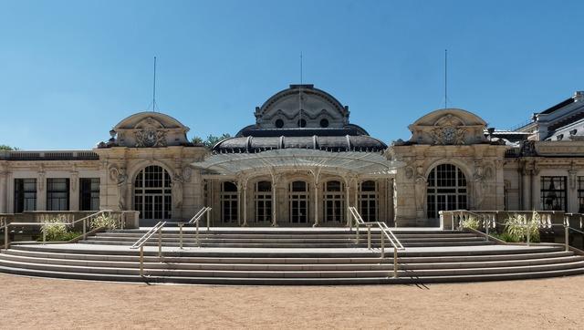 Opera vichy congress, architecture buildings.