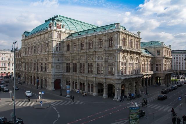 Opera vienna austria, architecture buildings.
