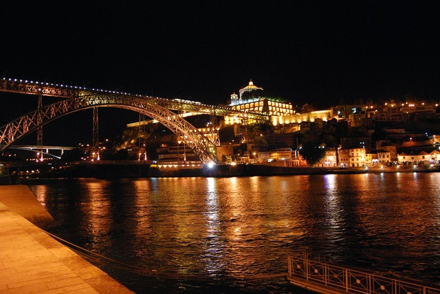 Oporto portugal bridge.