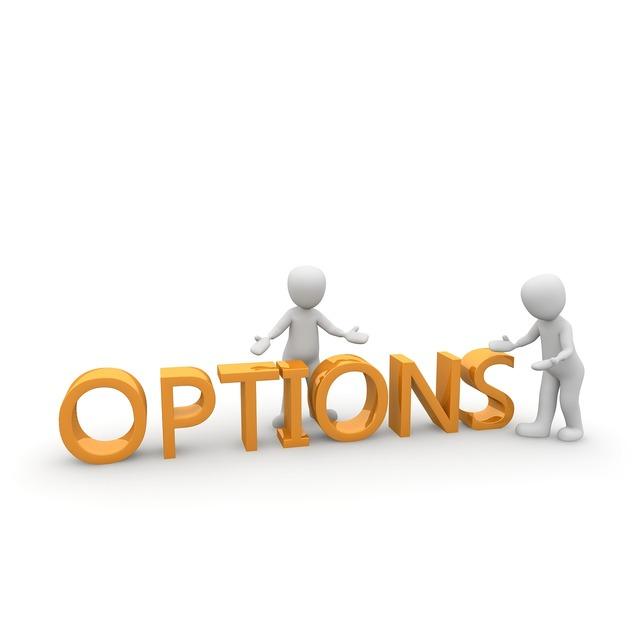 Option decision consideration.