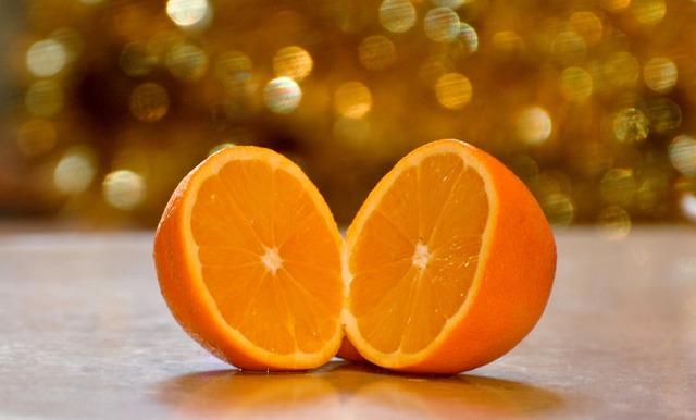 Orange food slice, food drink.