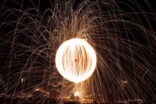Orb fire spin.
