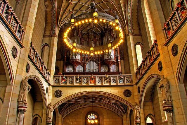 Organ church instrument lutherstadt wittenberg, religion.