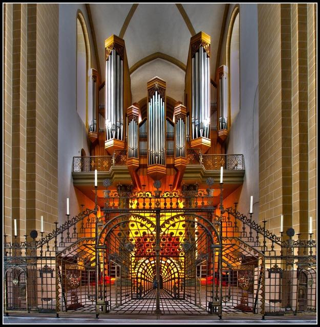 Organ dom paderborn, music.