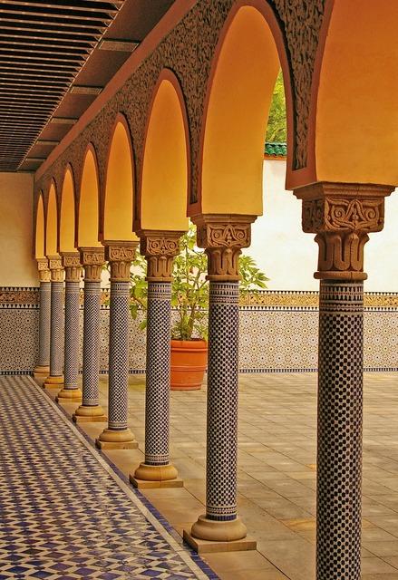 Oriental oriental garden ornament, backgrounds textures.