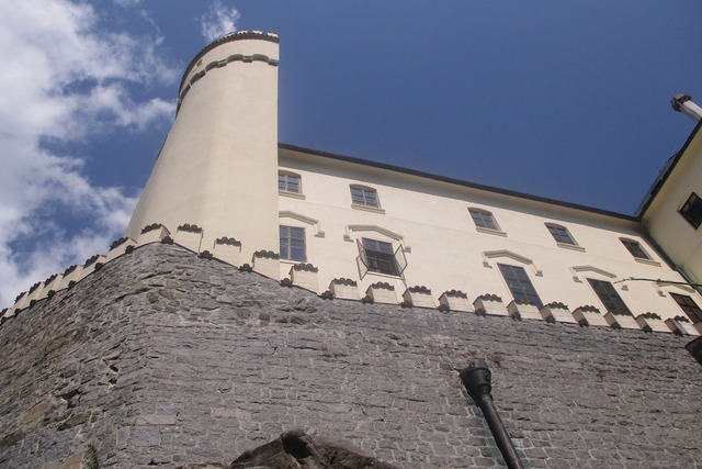 Orlík castle history, places monuments.