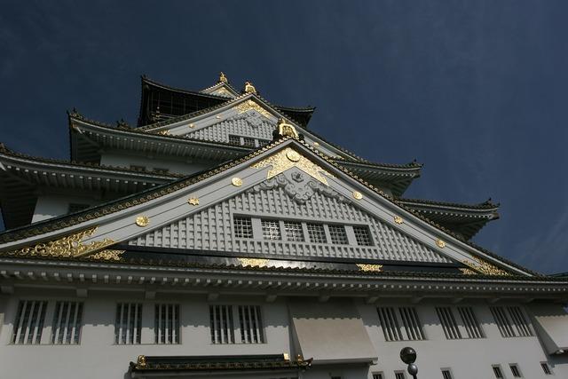 Osaka japan osaka castle, places monuments.