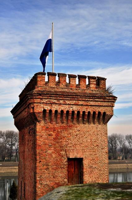 Osijek tvrdja croatia, architecture buildings.