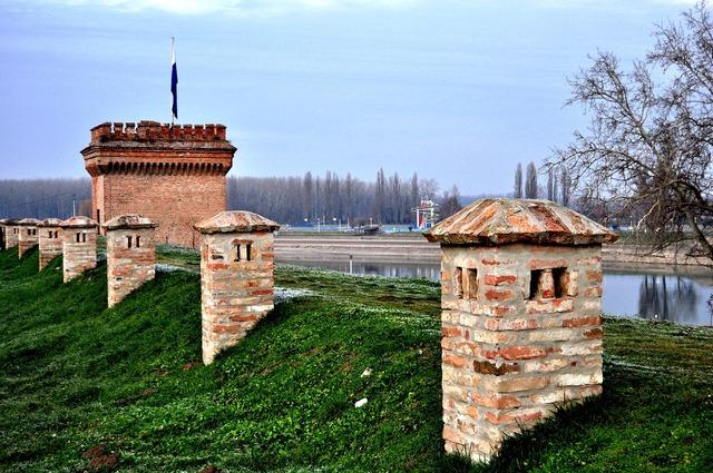 Osijek tvrdja croatia, travel vacation.