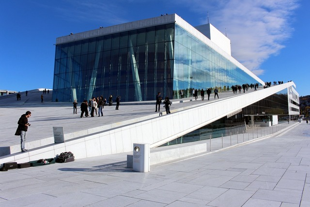 Oslo opera house norway, architecture buildings.
