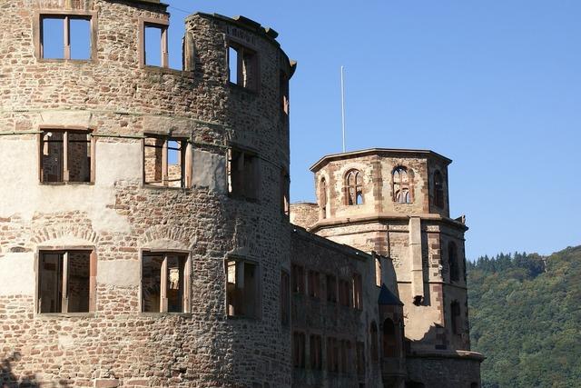 Ottheinrichsbau heidelberg castle, architecture buildings.